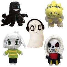 Jouets en peluche underconte de 20 à 30cm, nouvelle poupée musicale douce, Sans frisque, sara, asariel, Lancer, Zombie, poulpe, cadeaux pour enfants