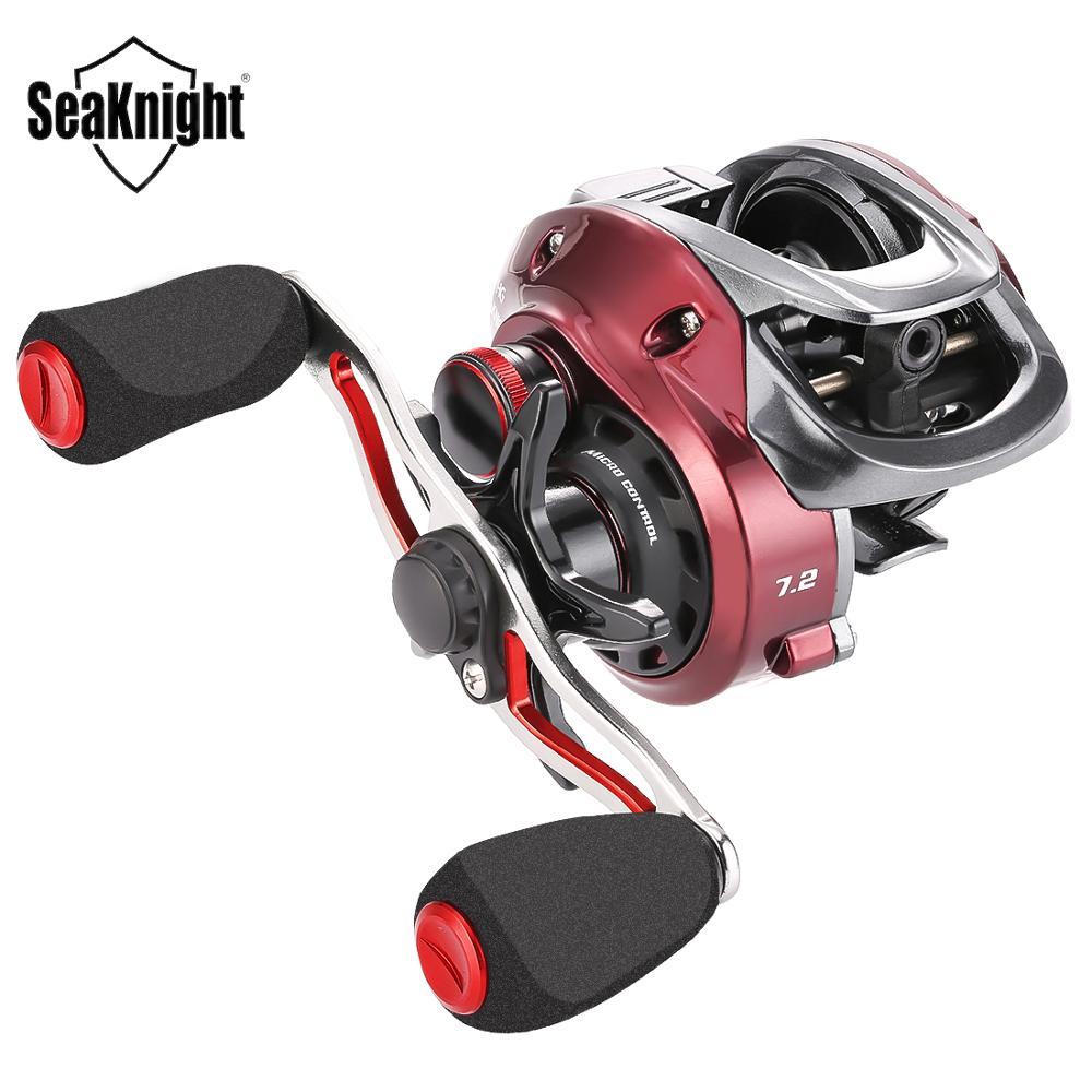 SeaKnight RED FOX 7.2:1 8.1:1 Micro Centrifugal Brake SystemBaitcasting Reel 192g Ultra light Fishing Reel Short Shaft Spool Fishing Reels    - AliExpress