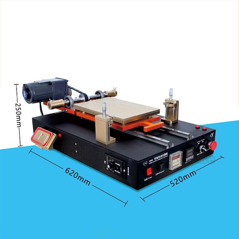 Купить с кэшбэком TBK-958D Automatic Vacuum LCD Separator Machine Built-in Vacuum Pump For Tablet Cellphone LCD Screen Repair Refurbished