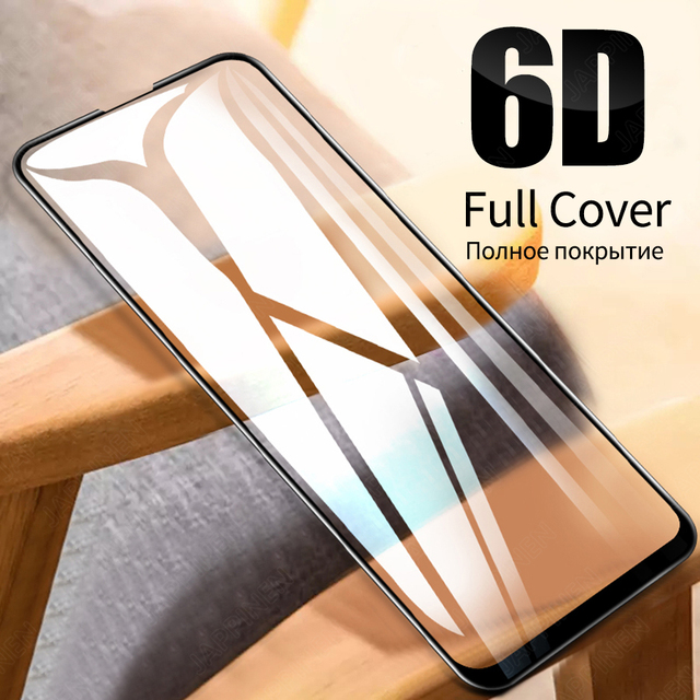 6D Full Cover Tempered Glass for Xiaomi Mi 9T Pro 9 SE A2 Lite A3 Pocophone F1 F2 Redmi Note 9S 8 Pro 8T Screen Protector Glass