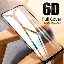 Protector de pantalla de cristal templado 6D para Xiaomi Mi 9T Pro 9 SE A2 Lite A3 Pocophone F1 F2 Redmi Note 9 S 8 Pro 8T