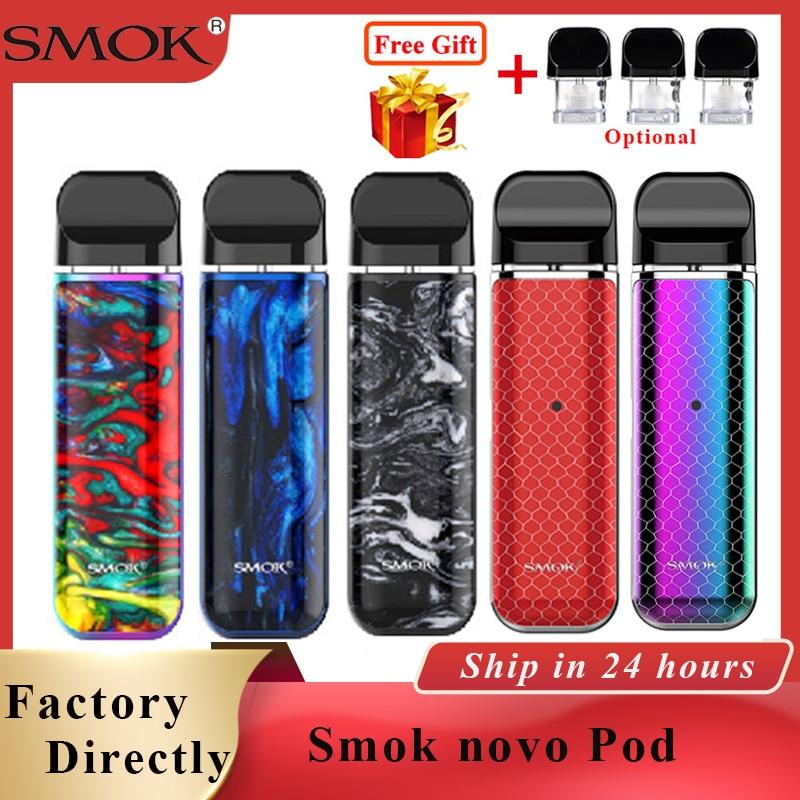 SMOK novo kit cobra coberto pod caneta vape kit com 450mAh bateria interna 2ml capacidade pod Cartucho vape & smok novo 2