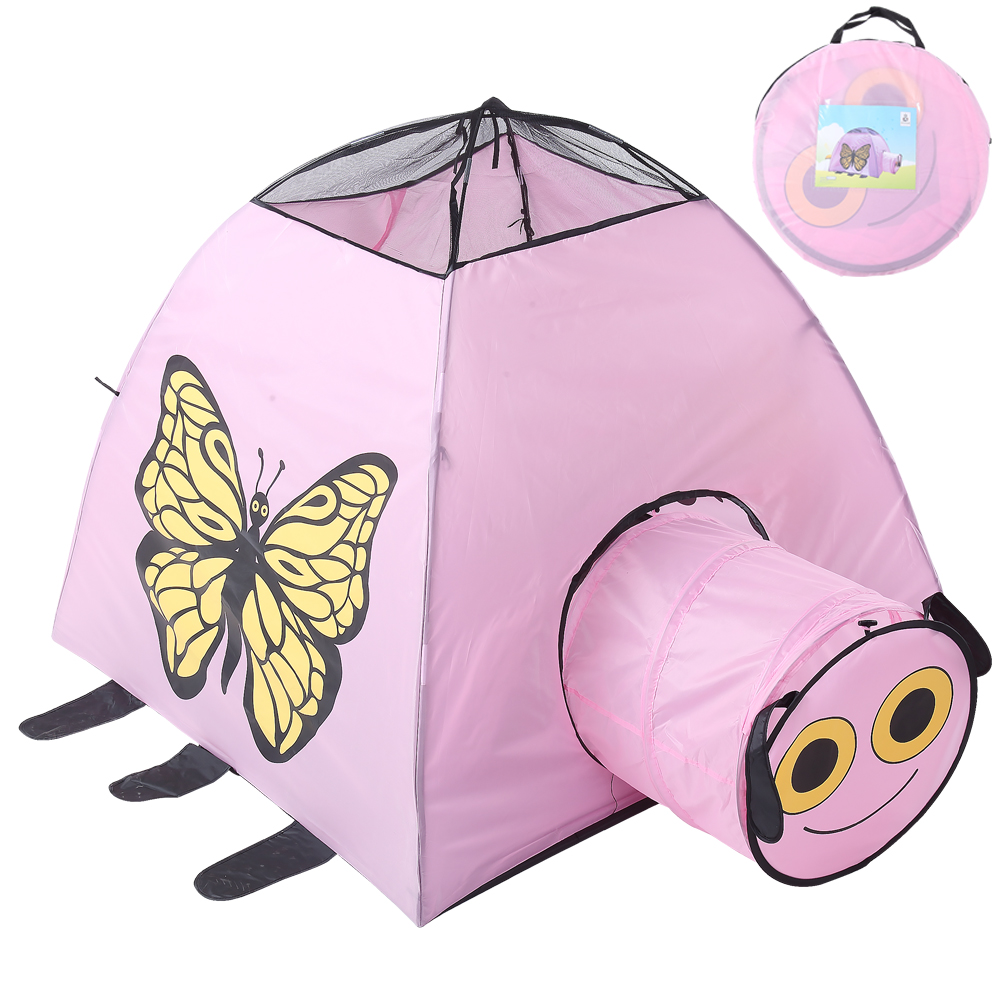 Portable Baby Foldable Tipi Camping Toy Tent For Kids Castle Play House Children Animal Car House Shape Best Beach Tent image