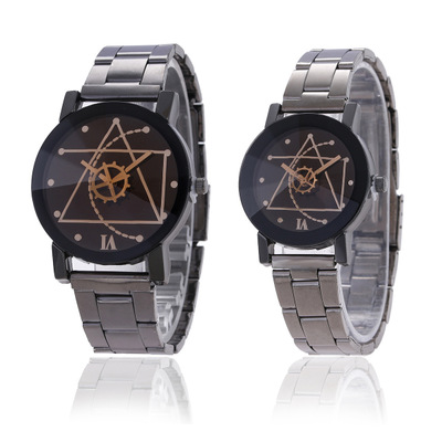 Permalink to reloj hombre Couple Watch Men Watch Women Stainless Steel Fashion Waterproof Pair Watches Clock Lover's Watch reloj montre
