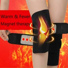 цена на 1 Pair Self Heating Knee Pads Magnetic Therapy Kneepad Pain Relief Arthritis Brace Support Patella Pads