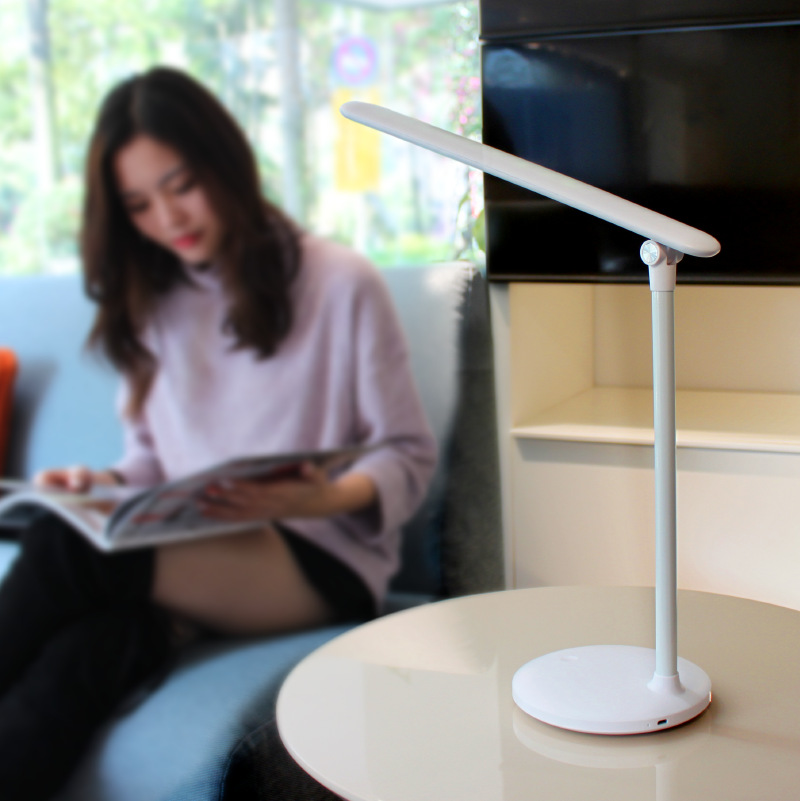 B2OCLED USB Rechargeable LED Table Lamp 3 Modes Dimmable 36 LEDs Desk Lamp Bedside 180 Degree Adjustable Reading Light