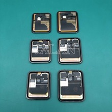 OEM LCD ل ip سلسلة ساعة 1 2 3 4 GPS LTE شاشة الكريستال السائل محول الأرقام 38 مللي متر/42 مللي متر/40 مللي متر/44 مللي متر الياقوت الرياضة بانتيلا استبدال