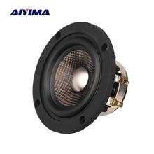 AIYIMA 3 inch 4 Ohm 30W Audio Speaker HIFI Full Range Titanium Film Carbon Fiber Basin Neodymium Loudspeaker for Car Upgrade DIY