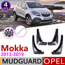 Para Opel Vauxhall Mokka X 2013 ~ 2019 Buick Encore guardabarros tapa guardabarros accesorios 2014 2015 2016 2017, 2018(China)
