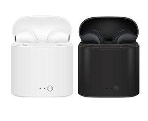 Image 5 - I7s TWSหูฟังไร้สายบลูทูธหูฟังหูฟังพร้อมกล่องชาร์จกีฬาชุดหูฟังมินิ