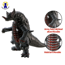 14cm New Kaiju Dinosaur Action Figure Model Collection Toys Large Size ABS Body Turnable Figure Toy For Boy Brinquedos Giftss large size classic dinosaur toy triceratops soft animal model collection for boys action