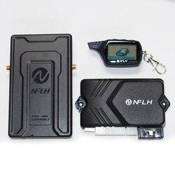 B9 GSM sterowanie przez telefon komórkowy nawigacja samochodowa GPS samochód dwukierunkowe urządzenie antykradzieżowe aktualizacja gsm gps dla rosji Alarm pęku kluczy