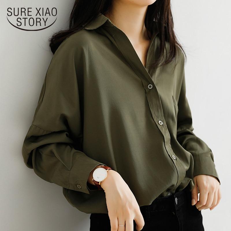 Chic Solid Shirts Long Sleeve Cotton Linen Blouse Plus Size Shirts Oversize White Blouse Maxi Boyfriends Chemisier 6591 50