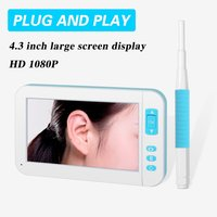 Hd 1080P Ear Cleaner Otoscope Mini Visual Endoscope Wide Screen Handheld Endoscope Borescope Video Inspection For P20