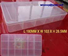 DHL/EMS  20pcs Electronic SMT SMD IC components box storage box TOOLS A8