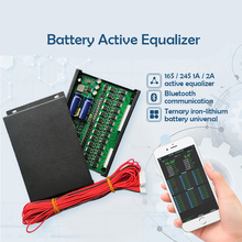 2S ~ 24S BMS Li-ion Lipo LTO Lifepo4 Lithium Titanate Battery  Pack Intelligent Bluetooth APP BMS Active Equalizer