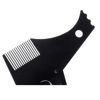 BellyLady Beard Grooming Kit Trimming Shaving Comb Set Mustache Scissors Shaping Shaver 6