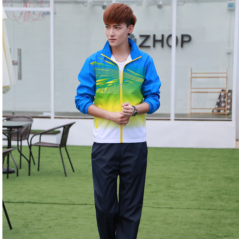 Sports Clothing Autumn Couples Sports Leisure Suit Students Sports Will Clothing Men And Women Two-Piece Set Customizable Busine