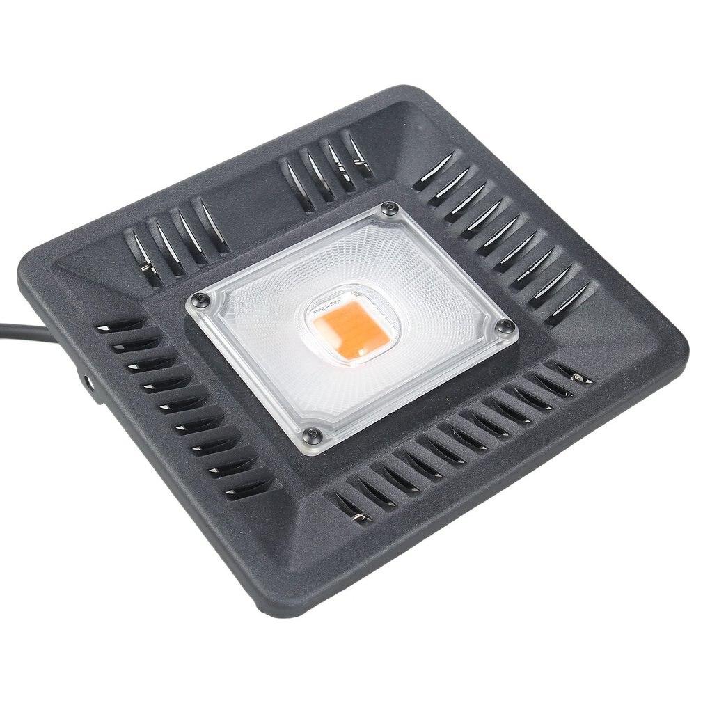 LED Grow Light AC 220V 60w/100w COB Full Spectrum Grow LED Light Waterproof Outdoor Light Fixture COB LED Plants Growth Light