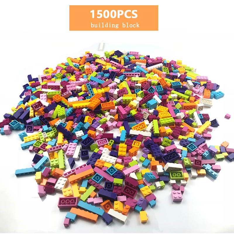 1500 Pcs Building Blocks Sets Classic City Creator Colorful Bricks Compatible With Top Brand Kids Educational Toys For Children
