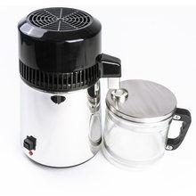 Máquina de agua destilada 304 de acero inoxidable, dispensador de agua, filtro, 4L, purificador de destilación Dental