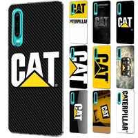 Funda de teléfono móvil con Logo de Caterpillar para Huawei Mate 30 20 10 Pro Lite Y6 Y7 Y9 Nova 3 2i 3i 3 4 5i