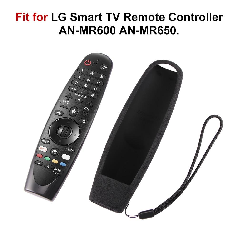 Casos de controle remoto duráveis para lg smart tv remoto AN-MR600 magia sikai inteligente oled tv capas de silicone protetor