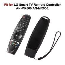 Capa de controle remoto, durável, para lg smart tv remoto AN-MR600 sikai smart tv oled, capas de silicone protetora