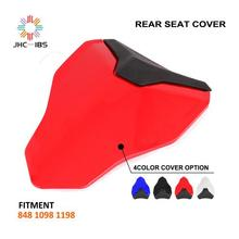 Motorcycle ABS Plastic Rear Seat Fairing Tail Cover Cowl For DUCATI 848  1098  1198