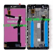 """5.0 """"המקורי M & סן עבור Xiaomi Redmi 4 (2GB RAM 16GB ROM) LCD תצוגת מסך + מגע Digitizer לוח עבור Redmi 4 LCD מסגרת"""