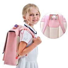 PU materialTop quality Waterproof Children's backpack boys girls Primary schoolbag Kindergarten Infantil Kids backpack