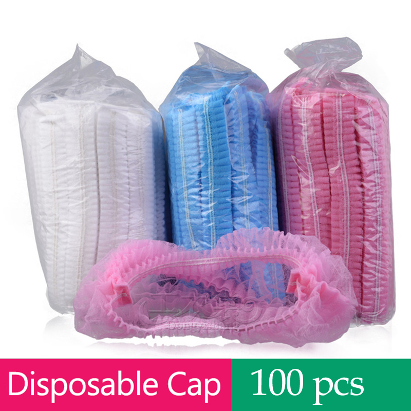 100pcs Microblading Accessories Permanent Makeup Disposable Hair Accessories Hair Net Caps  For Eyebrow Tattooing Free Shipping