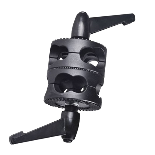 Multifunctional For Boom Photo Studio LED Light Mount Angle Universal Grip Head Clamp Photography Dual Swivel Arm Support Holder