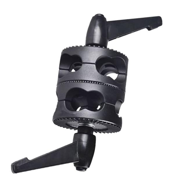 Multifunktionale Für Boom Foto Studio LED Licht Halterung Winkel Universal Grip Kopf Clamp Fotografie Dual Swivel Arm Unterstützung Halter