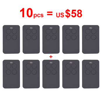 10pcs Auto scan 287-868mhz 433mhz 868mhz remote control duplicator garage command gate remote controller rolling code