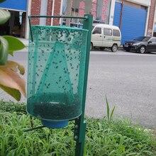 HOT Green Fly Catcher Killer Cage Net Trap Insert Bug Pest Hanging Catcher