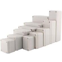 Boîtier de jonction électrique étanche bricolage, boîtier en plastique de haute qualité, boîtier ABS de Distribution, IP67