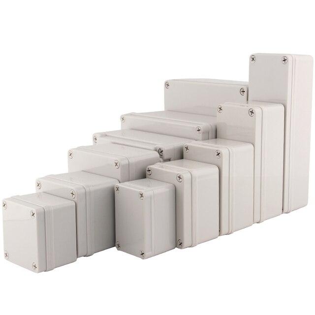 IP67 Nhựa Cao Cấp Dự Án Hộp Vỏ Chống Nước Tự Làm Điện Ngã Ba Hộp ABS Kèm Ốp Lưng Phân Phối Hộp