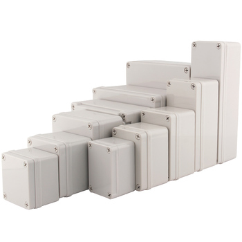 IP67 wysokiej jakości obudowa projektowa zewnętrzna wodoodporna DIY elektryczna skrzynka przyłączeniowa ABS plastikowa obudowa skrzynka rozdzielcza tanie i dobre opinie AG series grey 65*50*55 95*65*55 110*80*45 110*80*70 110*80*85 180*80*70 200x200x95 250x150x100 250*80*70 100*100*75 Junction Box