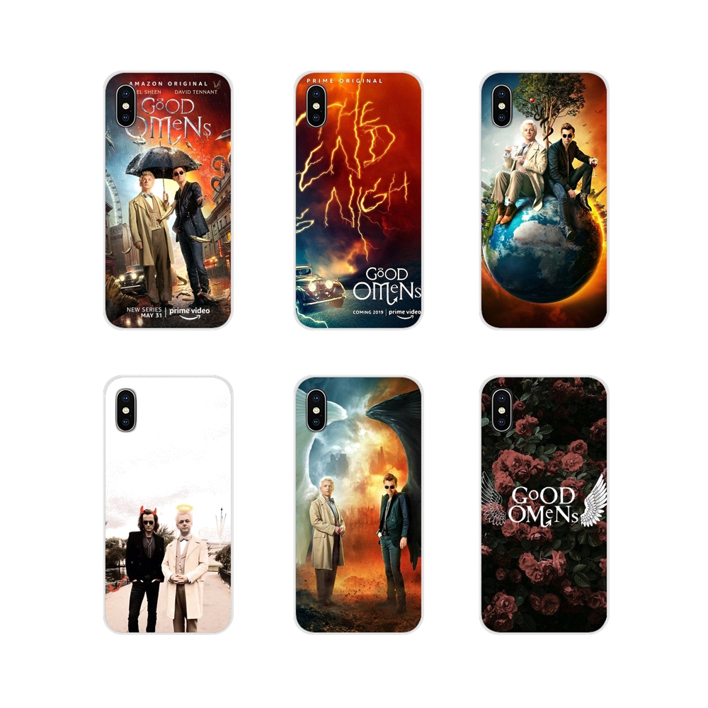 Accessories Phone Shell Covers New TV Good Omens For Samsung Galaxy A3 A5 A7 A9 A8 Star A6 Plus 2018 2015 2016 2017 image