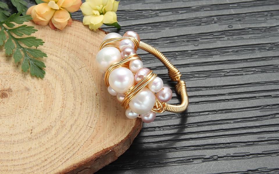 Pearl rings (3)