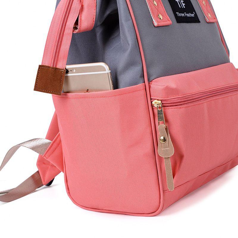 Модный рюкзак для подгузников для мам, Большая вместительная сумка для подгузников, водонепроницаемая сумка для подгузников, дорожная сумка для детских колясок