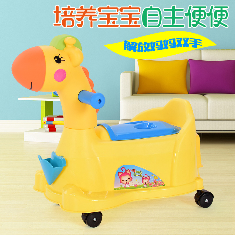 Extra-large No. Toilet For Kids Baby Girls Pedestal Pan Infants Men's Potty Kids Commode Drawer-type With Music