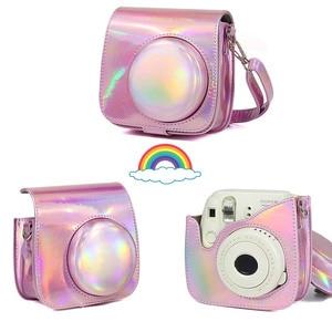 Image 4 - Rose Rosa Fujifilm Instax Mini 9 Instant Film Kamera + 20 Blätter Mini 8 Weiß Filme Fotos + Tasche Fall + Album + Filter + Rahmen