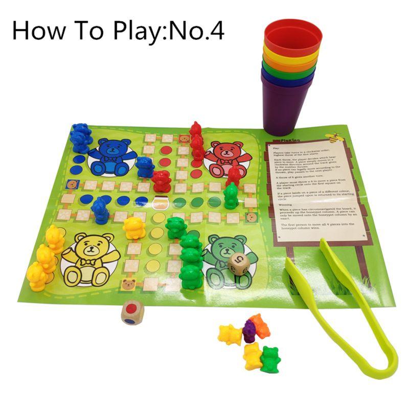 criancas brinquedo educacional perfeito contando ursos com 04