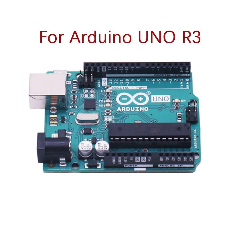 For Arduino UNO R3 CH340G MEGA328P Chip 16Mhz ATMEGA328P-AU Learning Development Board Integrated Circuits Kit Original Case