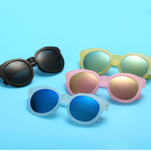 KOTTDO Fashion Plastic Kids Sunglasses Children Brand Black Sun Glasses Anti-uv