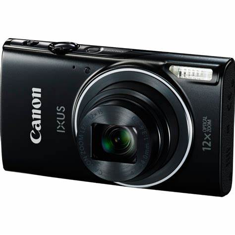 USED canon IXUS 275 HS camera 20.2 Megapixel CMOS 12x zoom Full HD movies Wi-Fi and NFC Powerful DIGIC processing image