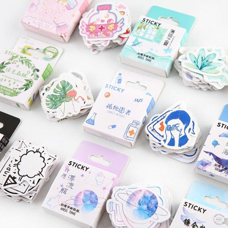 Girls Medical Nurse Sticker DIY Craft Scrapbook Sticker Set 46 Sheets /pcs