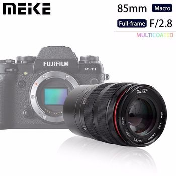 Meike MK85mm f/2,8 de enfoque Manual lente Macro para Olympus Micro 4/3...
